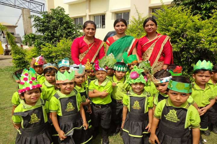 Rai Saheb Bhanwar Singh Public School-Word-Plantation-Day