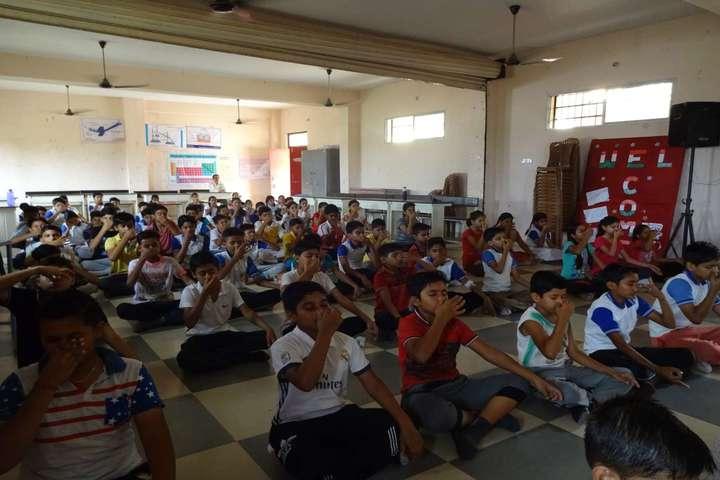Rai Saheb Bhanwar Singh Public School-Yoga-Day
