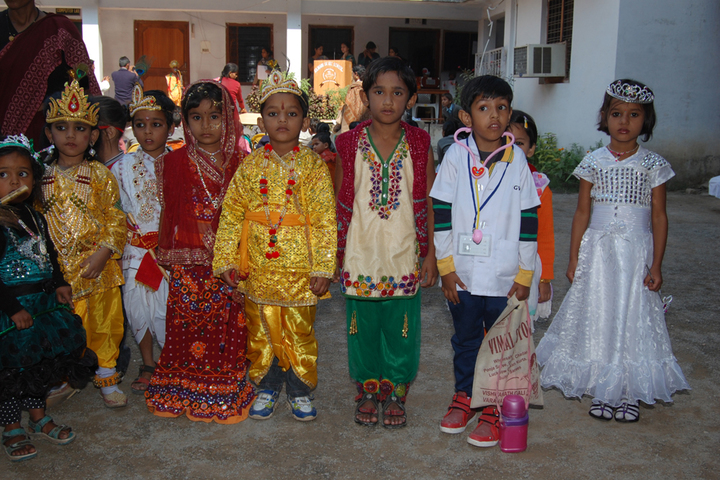 Raj Hans School Rewa-Fancy Dress