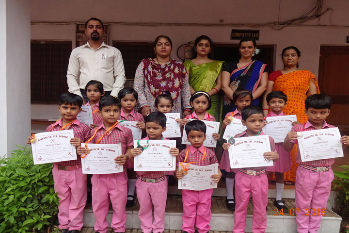 Raj Hans School Rewa-Annual Prize Distribution