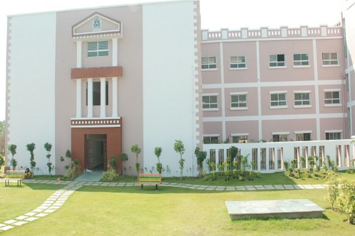 Raj Heights The Global School-Campus View
