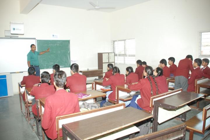Raj Heights The Global School-Classroom