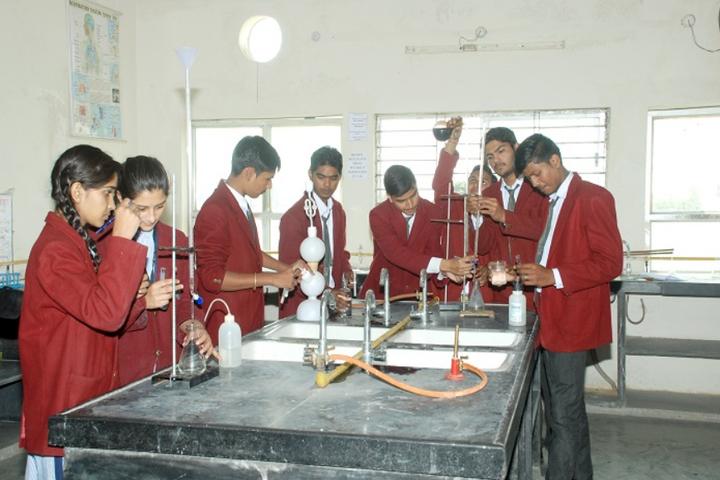 Raj Heights The Global School-Chemistry Lab
