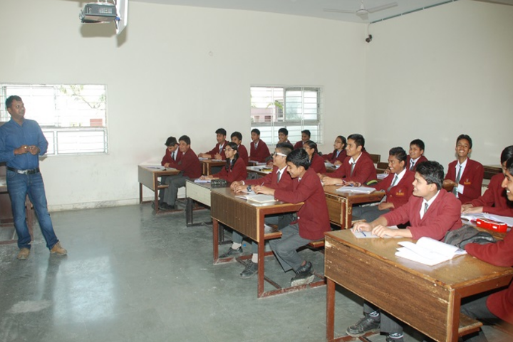 Raj Heights The Global School-Smart Classroom