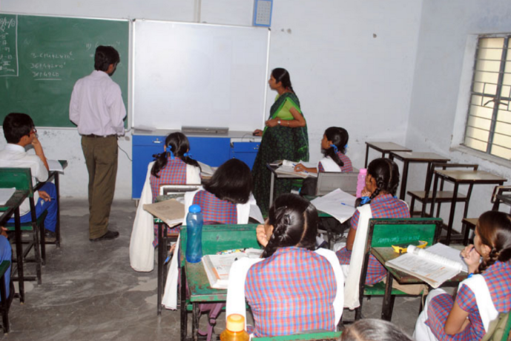 Rajeev Gandhi Higher Secondary School-Classroom
