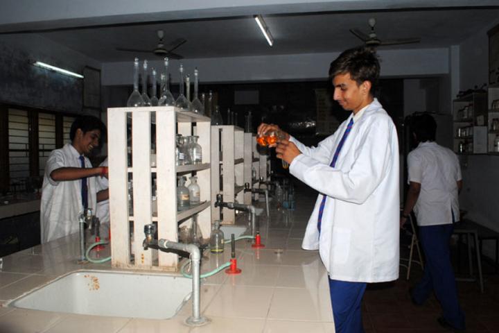 Rajeev Gandhi Higher Secondary School-Chemistry Lab