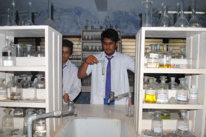 Rajeev Gandhi Higher Secondary School-Lab
