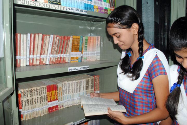 Rajeev Gandhi Higher Secondary School-Library