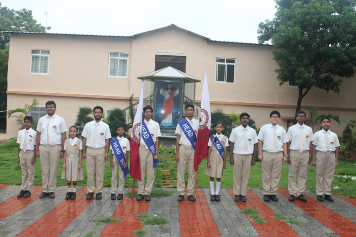 Rajeshwar Higher Secondary School-Investiture Ceremony
