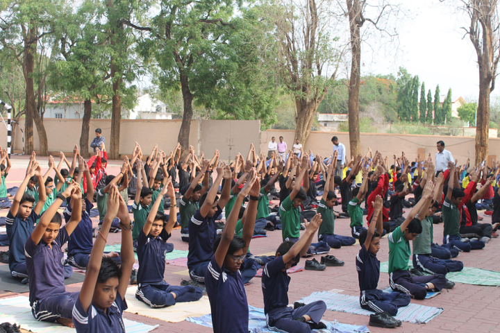 Rajeshwar Higher Secondary School-Yoga