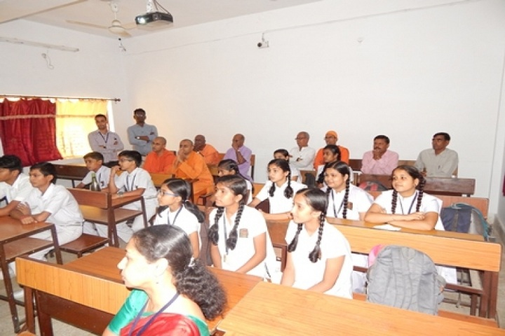 Ramakrishna Vivekananda Vidyapeeth-Classroom