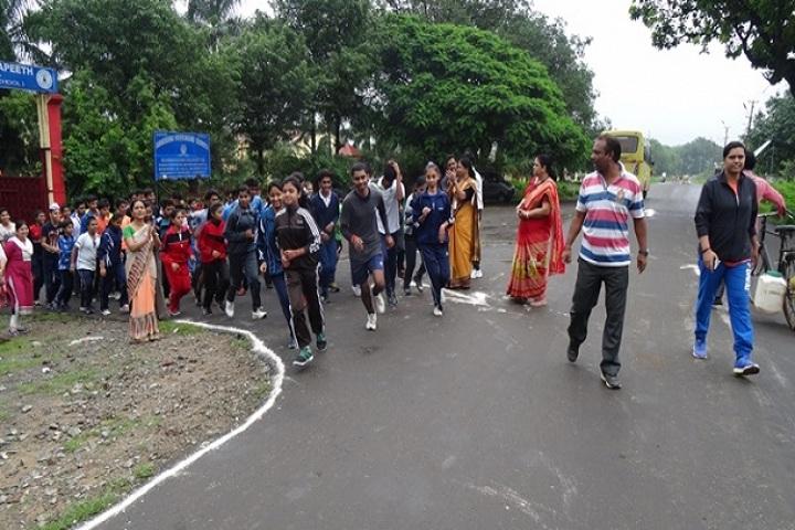 Ramakrishna Vivekananda Vidyapeeth-Sports Day