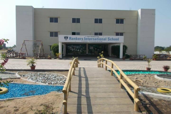 Rankers International School-Front-View