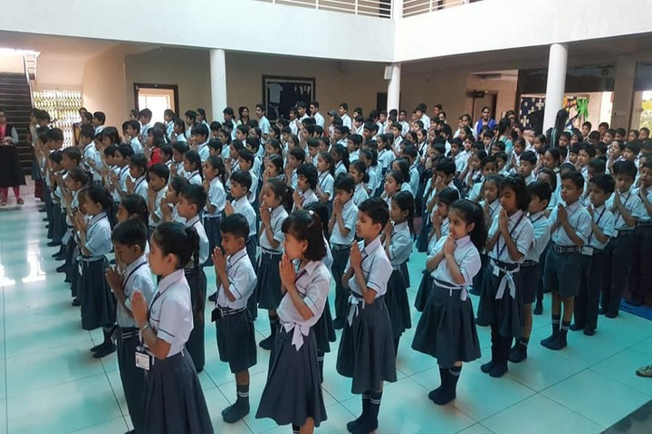 Rankers International School-Morning-Assembly