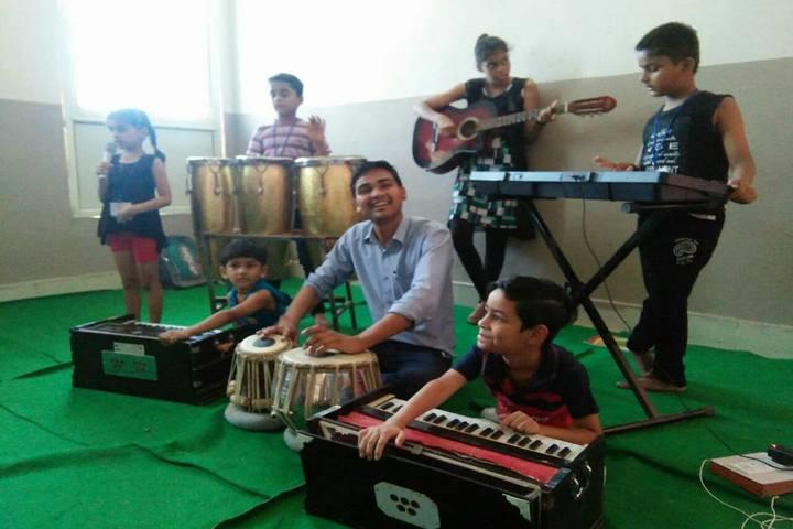 Rass Jb Public School-Music Room