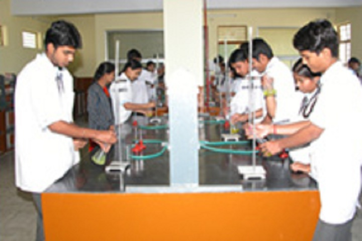 Red Rose Higher Secondary School-Chemistry Lab