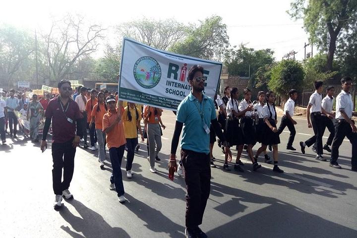 Rise International School-Rally