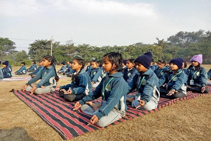 Rise International School-Yoga day