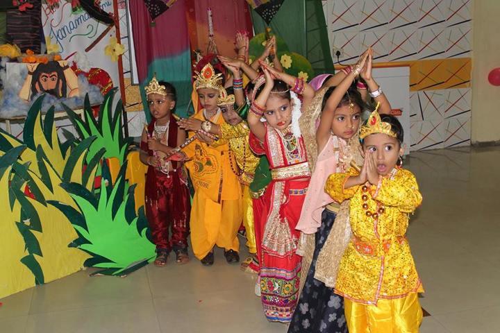 Rishi Galav Public School-Krishnashtami