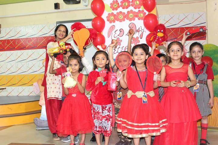 Rishi Galav Public School-Red Day