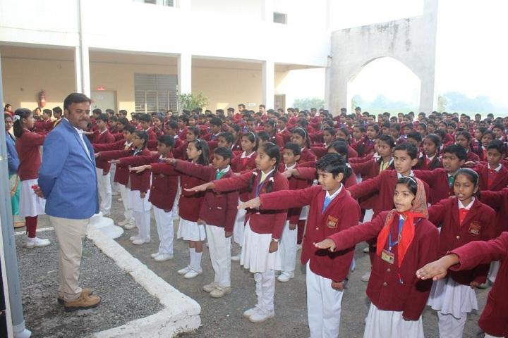 Roshan Dhoreliya World School-Pledge