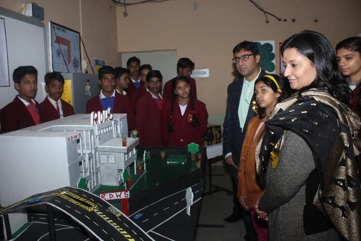 Roshan Dhoreliya World School-Science Exhibition