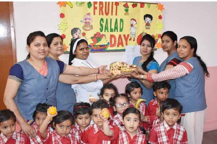 Sacred Heart Convent School-Fruits Salad Day