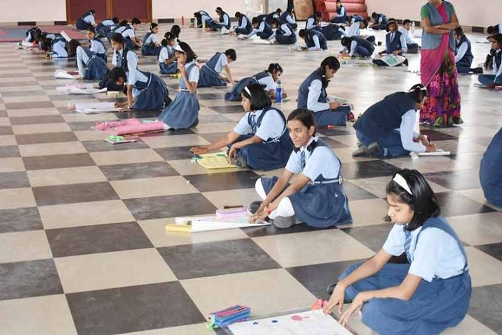 Sacred Heart Convent School-Poster Making