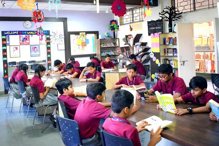 Sagar Public School-Library