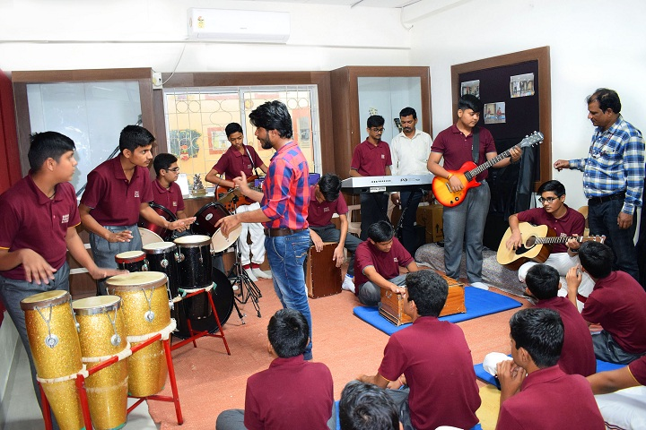 Sagar Public School-Music Room