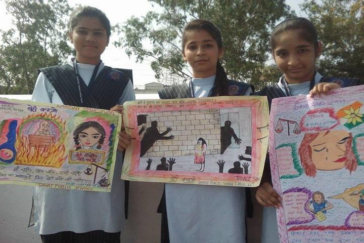 Sahaj Public School-Drawing competition