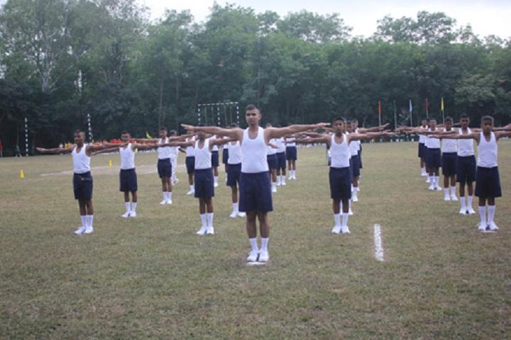 Sainik School-PT Compitition