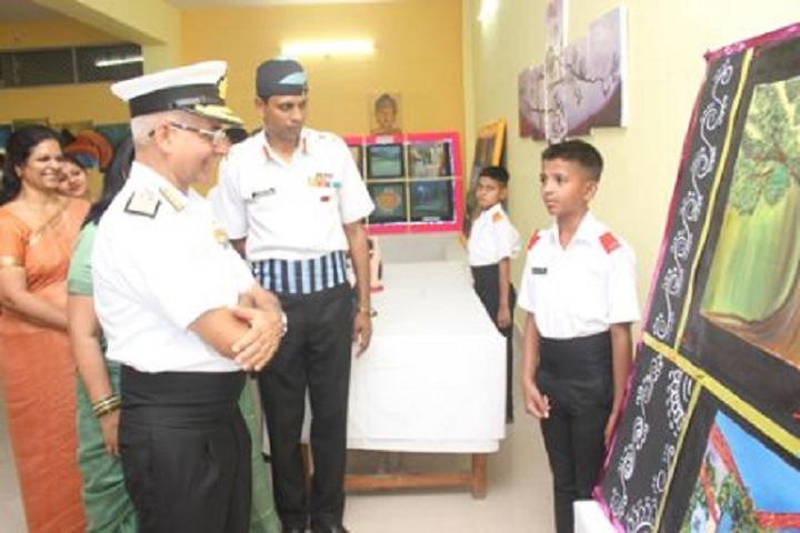 Sainik School-Science Exhibition