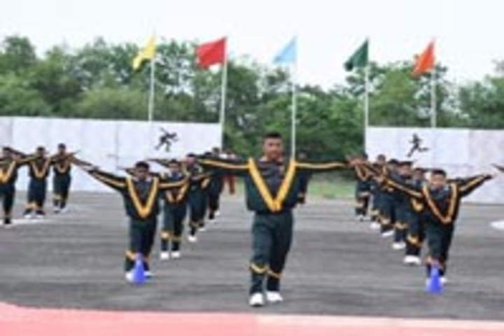 Sainik School, Rewa - Group