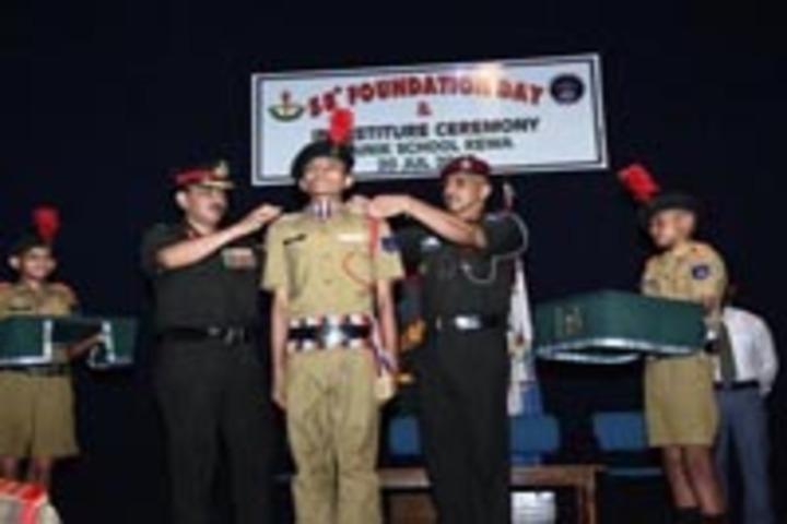Sainik School, Rewa - Stage