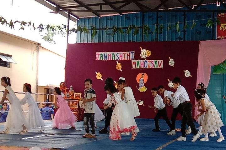 Saket MGM Senior Secondary School-Childrens Dance programme