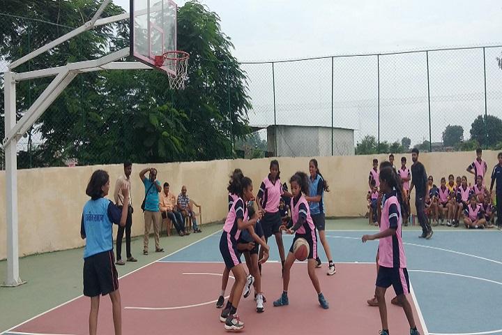 Saket MGM Senior Secondary School-Sports Basketball
