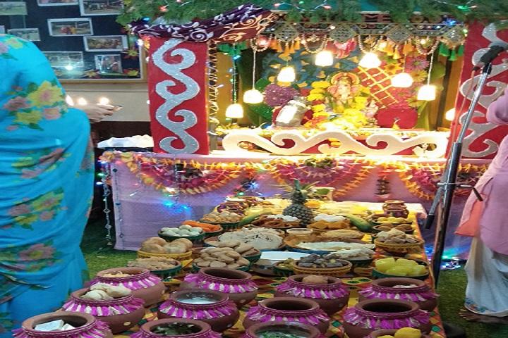 Saket MGM Senior Secondary School-Vinayak Chaviti festival