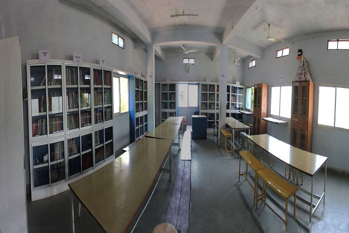 Samaritians English Medium Higher Secondary School-library