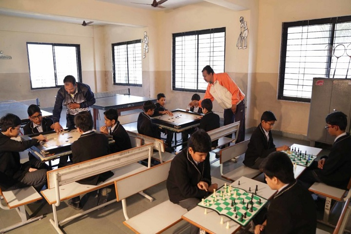 San Thome Academy-Chess and Carrom Room