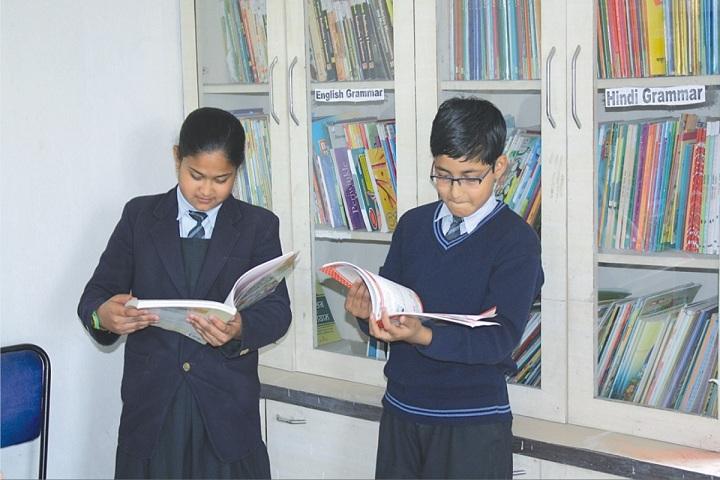 Sandipani Vidya Vihar-Library
