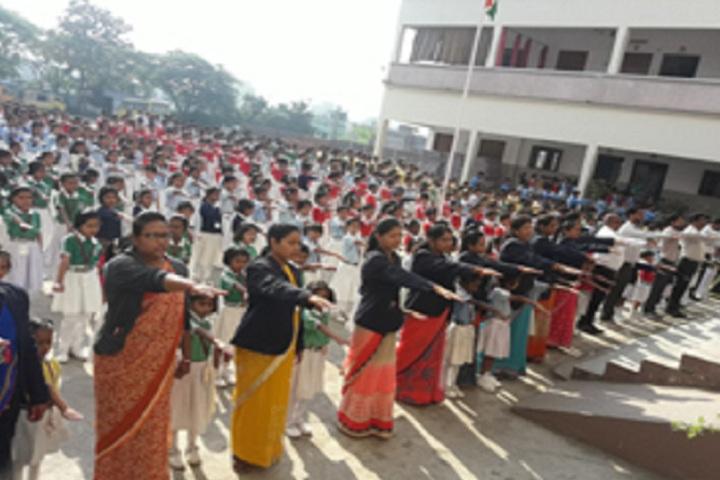Sankalp Higher Secondary School-Oath Ceremony