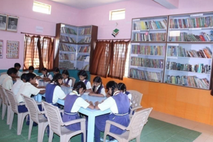 Sankalp Higher Secondary School-Library