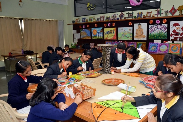 Sanmati Higher Secondary School-Drawing Room
