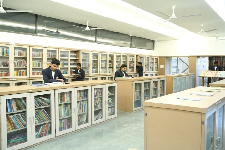 Sanmati Higher Secondary School-Library