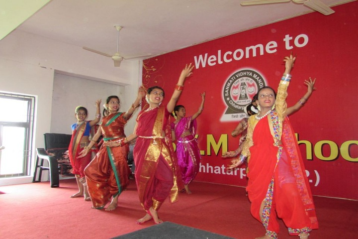 Sanmati Vidhya Mandir Public School-Group Dance