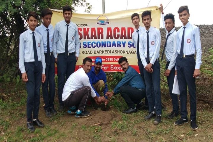 Sanskar Academy-Tree Plantation