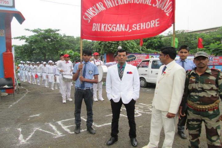 Sanskar International School-Greeting Ceremony
