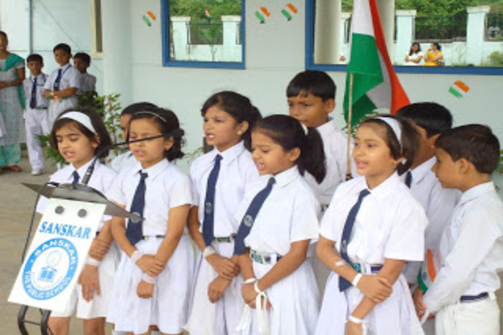 Sanskar The Public School-Independence Day