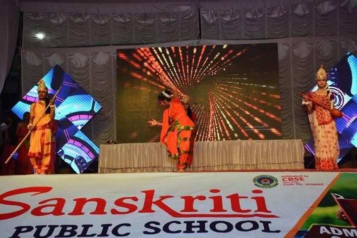 Sanskriti Public School-Classical Dance